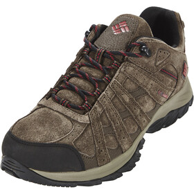 Columbia Canyon Point Leather Omni-Tech Schoenen Heren, cordovan/red element